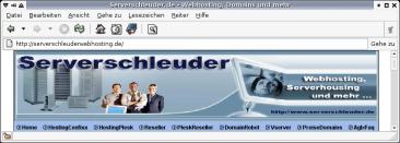 Serverschleuder Homepage